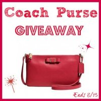 Coach Purse Giveaway 8/15 US