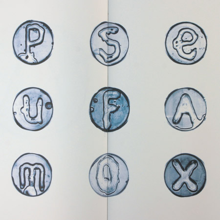 bacterial typography