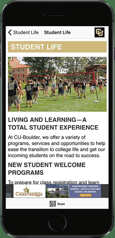 Visit CU Mobile App