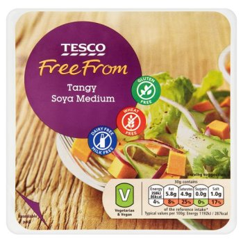 Zoom   Tesco Free From Soya Medium 227G