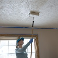 easy way to paint ceilings | Boatylicious.org
