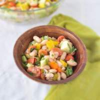 Super Easy White Bean Salad