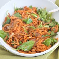 Balsamic Sweet Potato Pasta