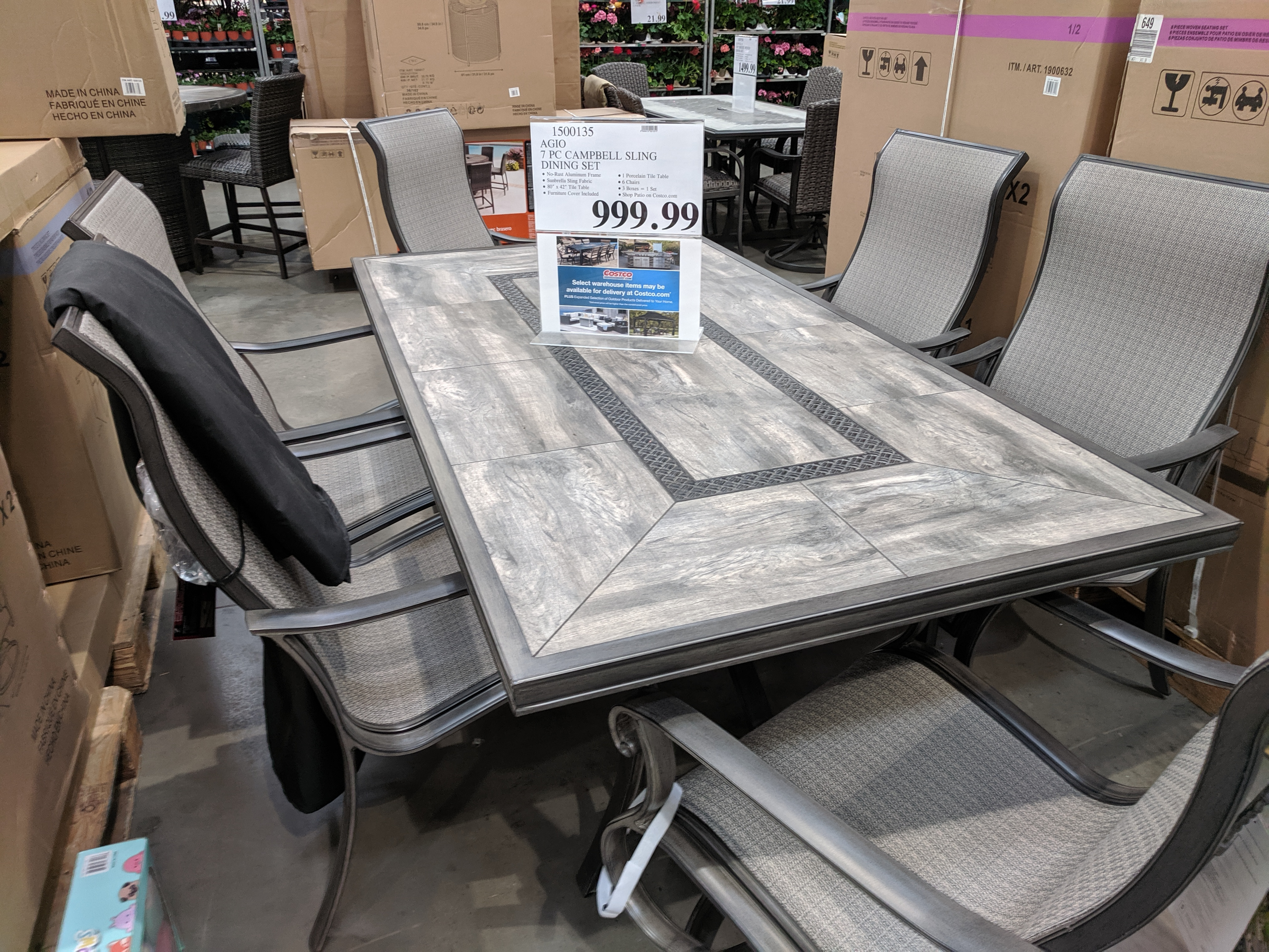Outdoor Patio Furniture At Costco Roundup My Wholesale Life - Outdoor Furniture Clearance Sales