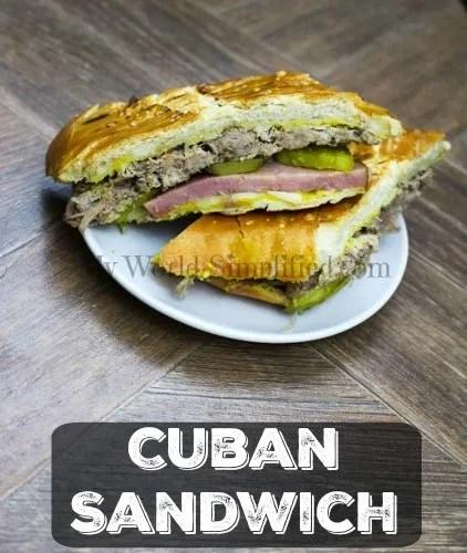 Cuban sandwiches #SundaySupper