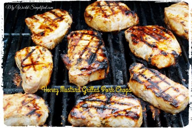 honey mustard grilled chops_Fotor