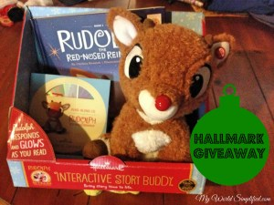 Rudolph Interactive Story Buddy Giveaway