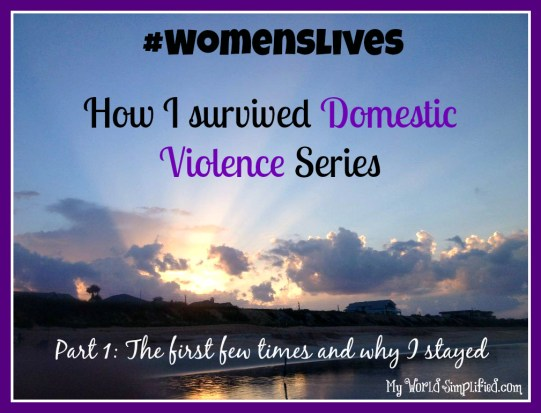domestic violence how it starts
