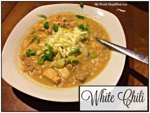 One Pot White Chili #Recipe