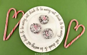 Mint Brownie Crackle Cookie #Recipe