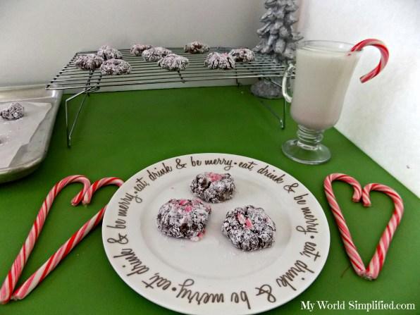 mint brownie cookies