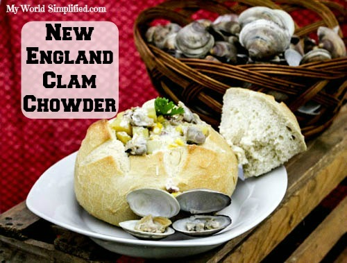 THE BEST New England Clam Chowder Recipe