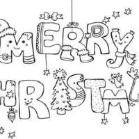 Christmas Coloring Pages & Games