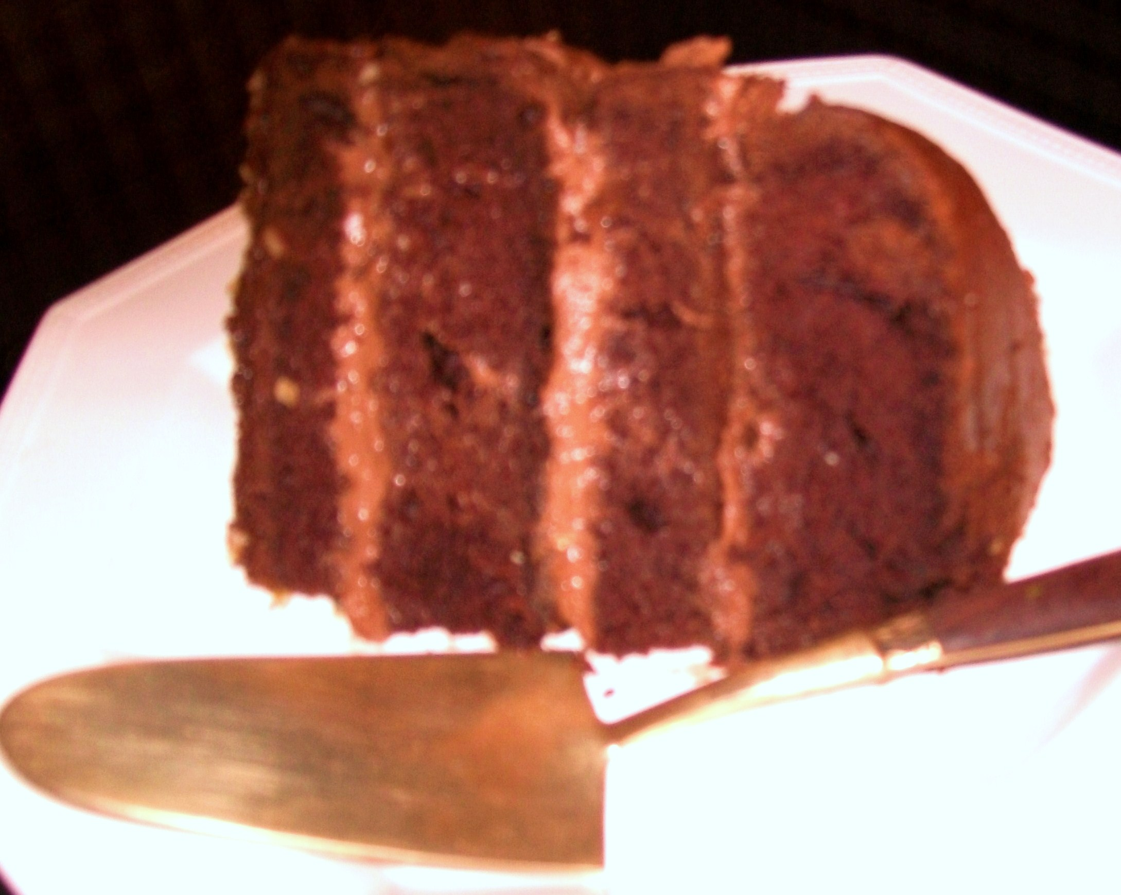 My Yellow Farmhouse Blog Barcardi Chocolate Cake With Creamy Chocolate Filling My