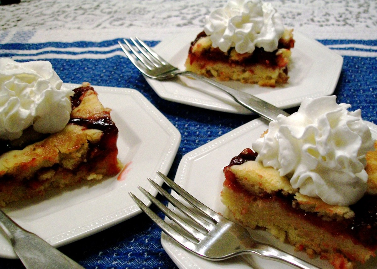 My Yellow Farmhouse Blog Quick And Easy Cherry Squares