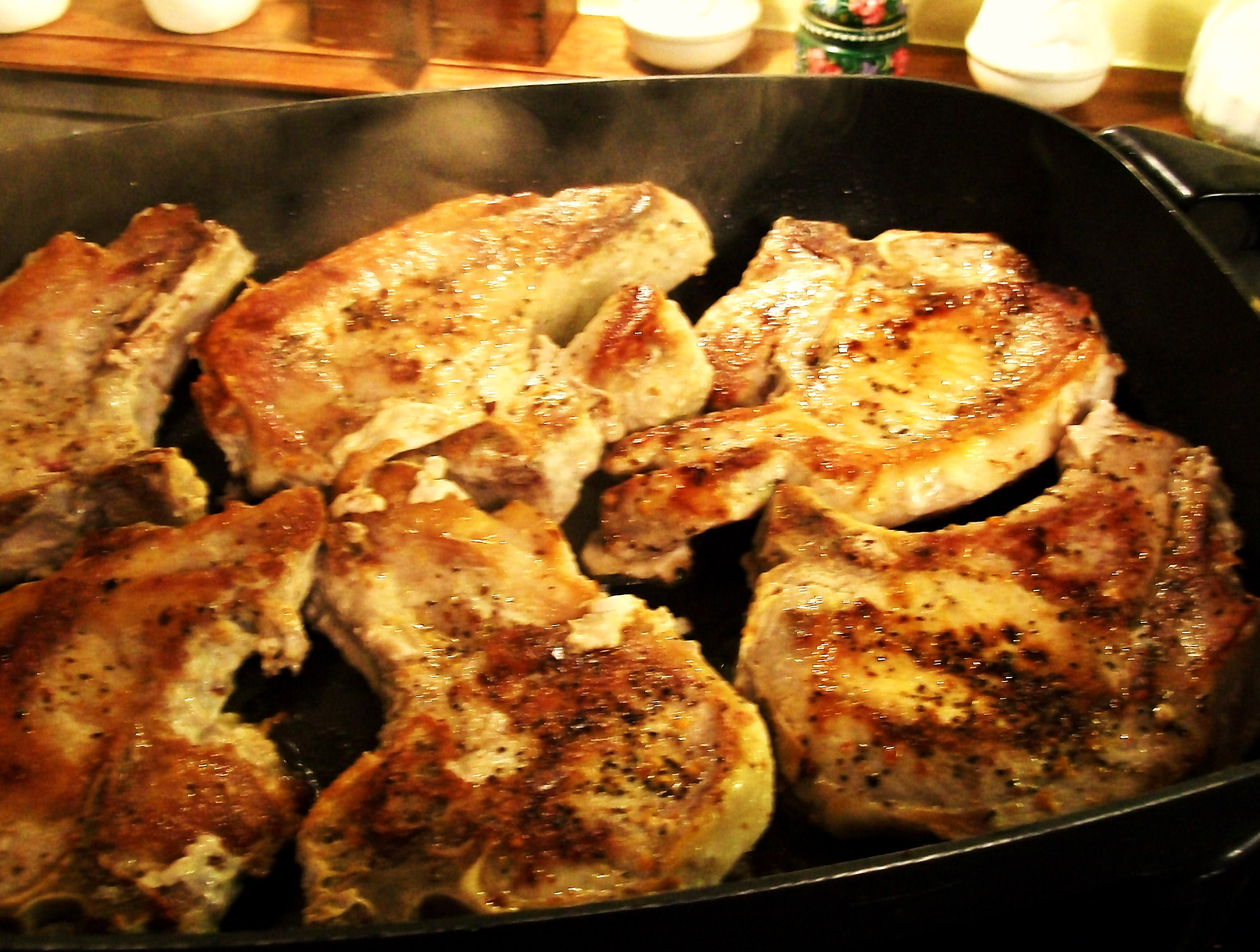 My Yellow Farmhouse Blog Savory Cajun Pork Chops
