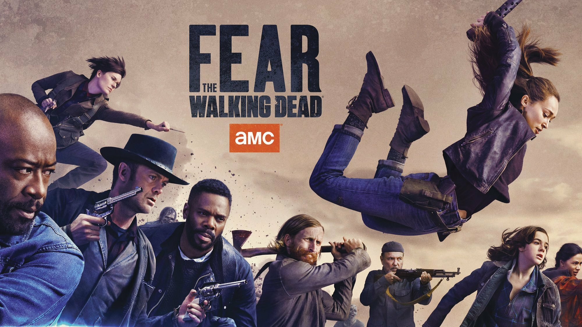 Fear The Walking Dead Start Der 6 Staffel Bei Amc