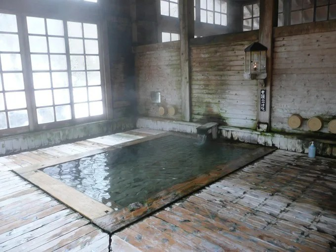 青荷温泉・お風呂の紹介・健六の湯