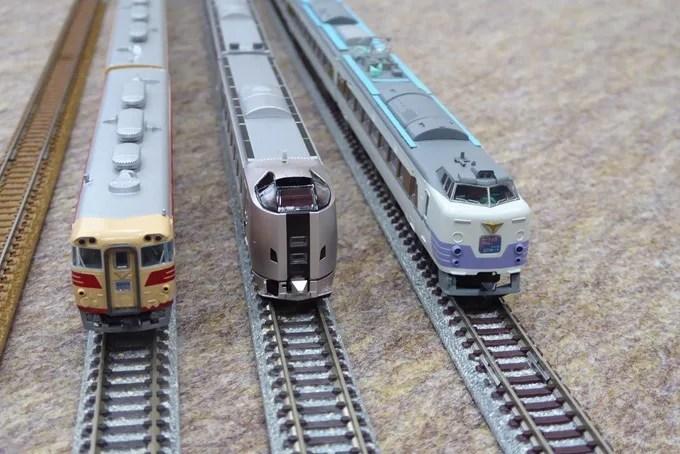 第11回鉄道模型俱楽部・北海道の特急