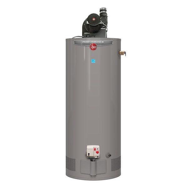 Home Depot Rheem Performance Power Vent 50 Gallon Gas