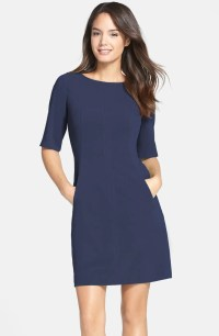 Tahari Seamed A-Line Dress (Regular & Petite) | Nordstrom