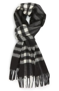 Burberry 'Giant Icon' Cashmere Scarf   Nordstrom