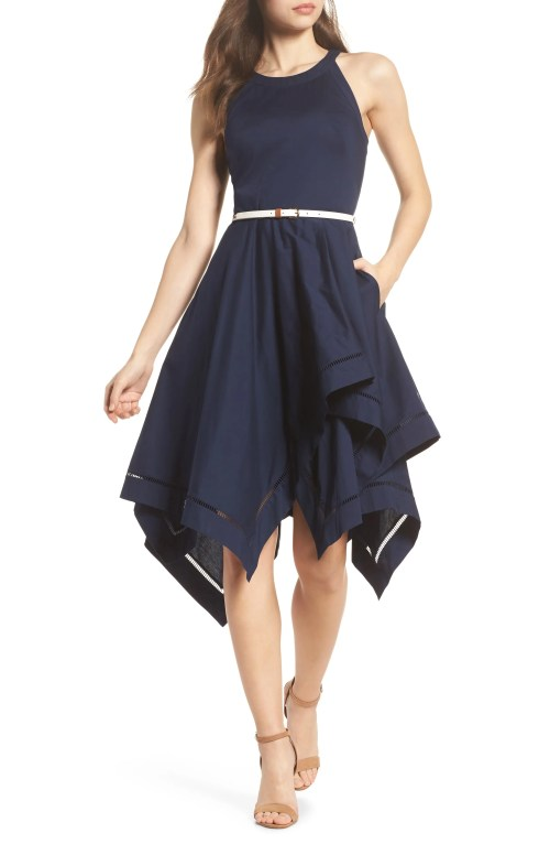 Medium Of Black Fit And Flare Dress