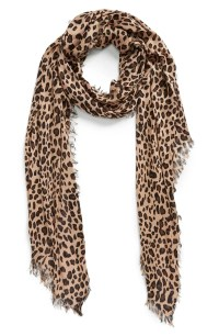 Sole Society Leopard Print Scarf | Nordstrom