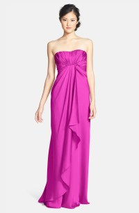 ML Monique Lhuillier Bridesmaids Strapless Gown (Nordstrom ...