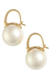 kate spade new york faux pearl drop earrings | Nordstrom