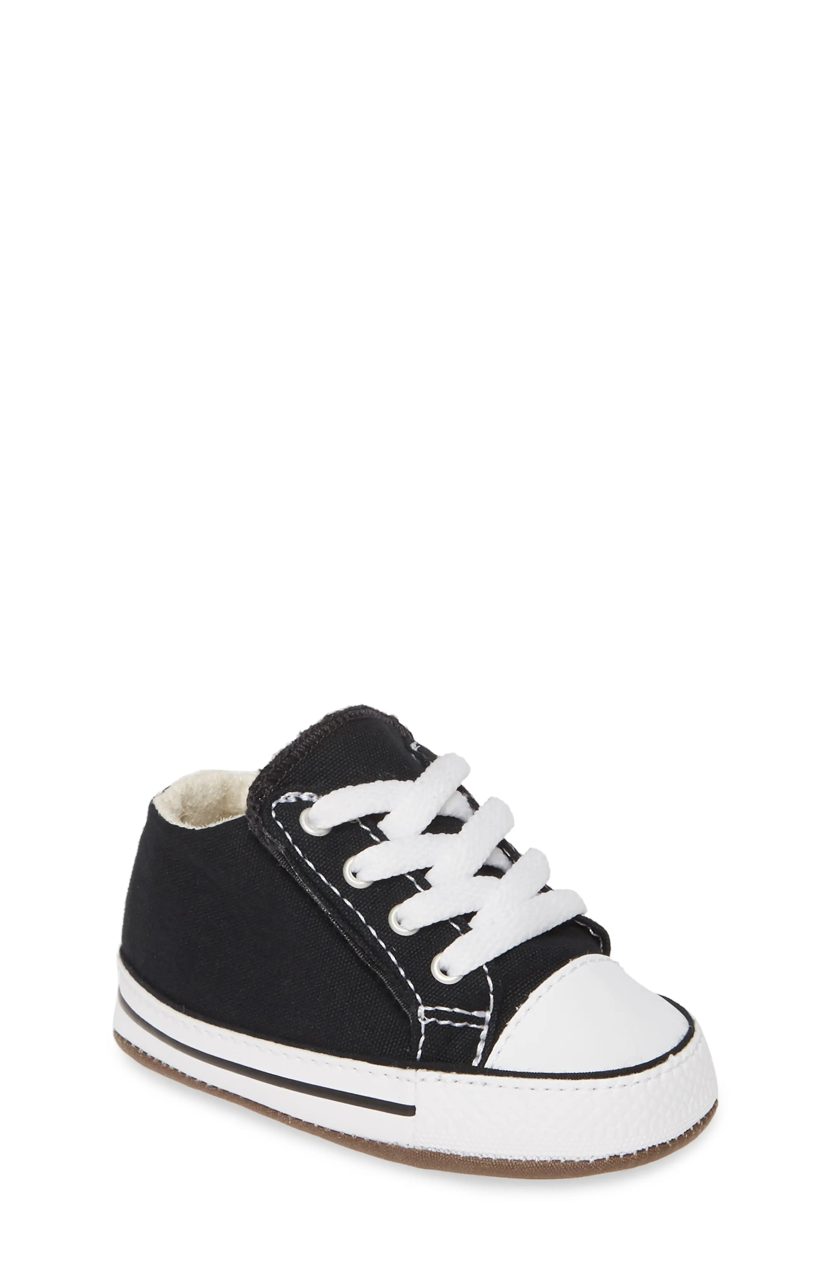 Baby White Converse Pram Shoes Baby Converse Crib Shoes White