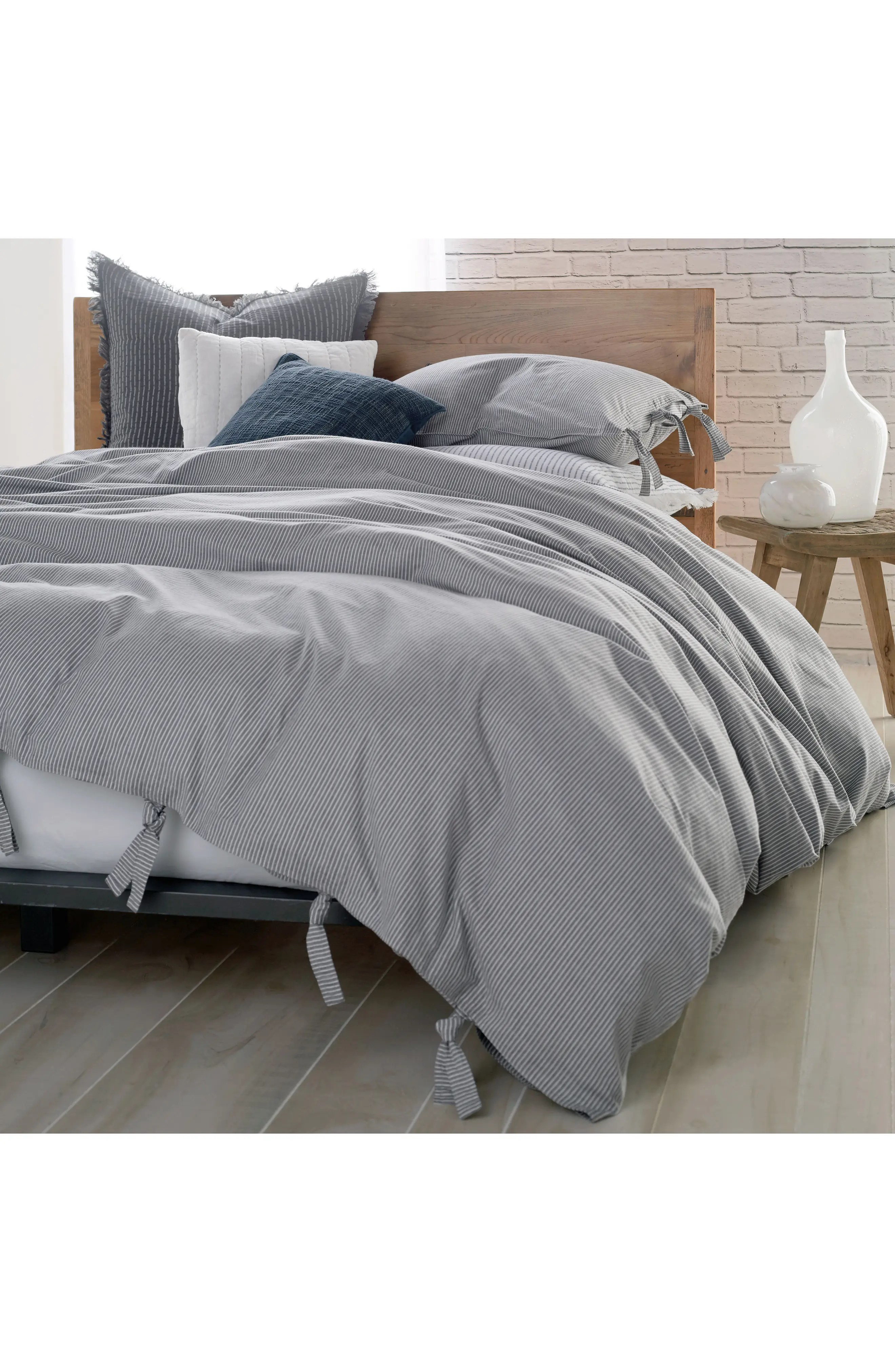 Duvet And Cover Pure Stripe 144 Thread Count Duvet Cover