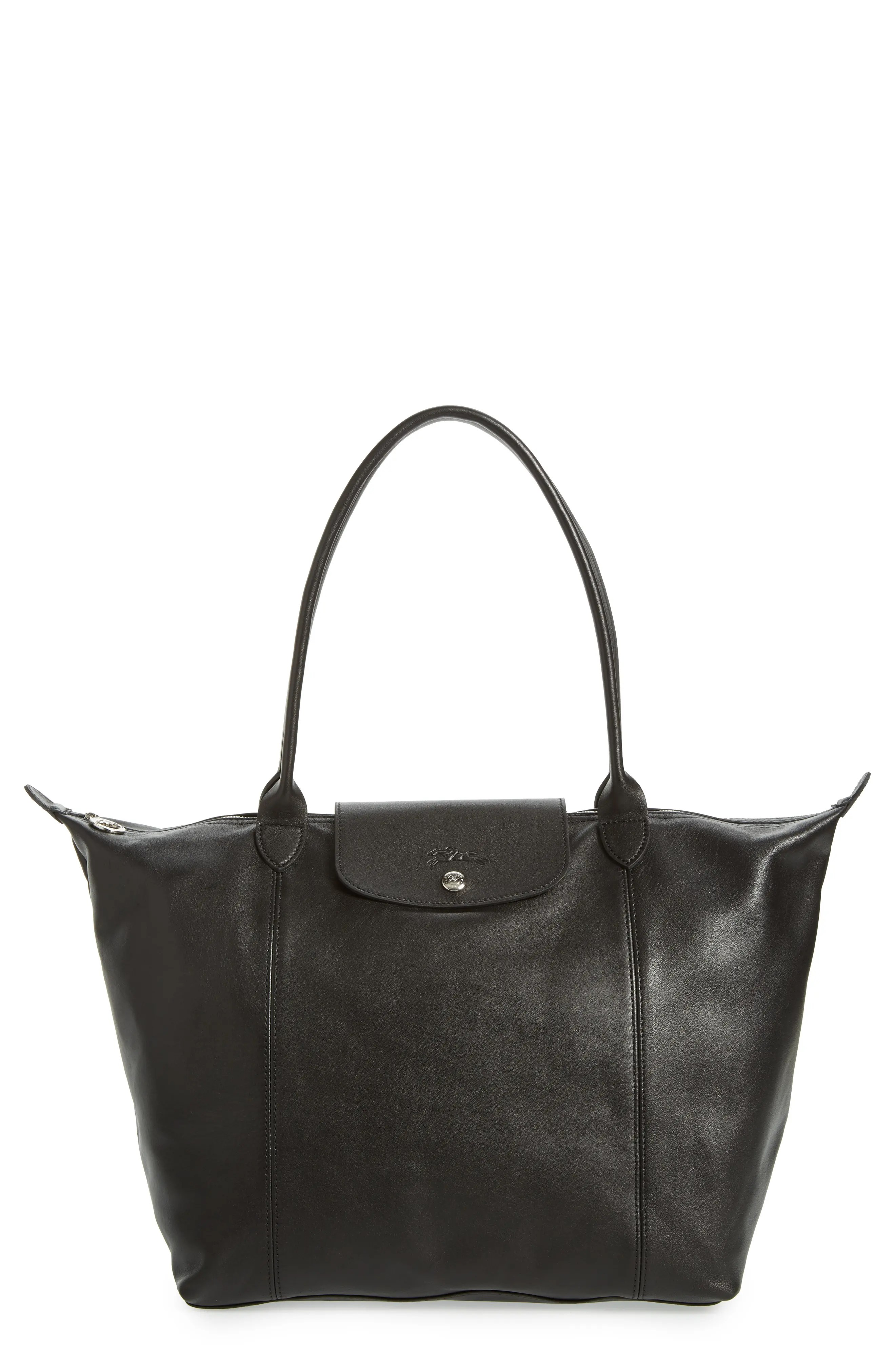 Leather Cuir Le Pliage Cuir Leather Tote