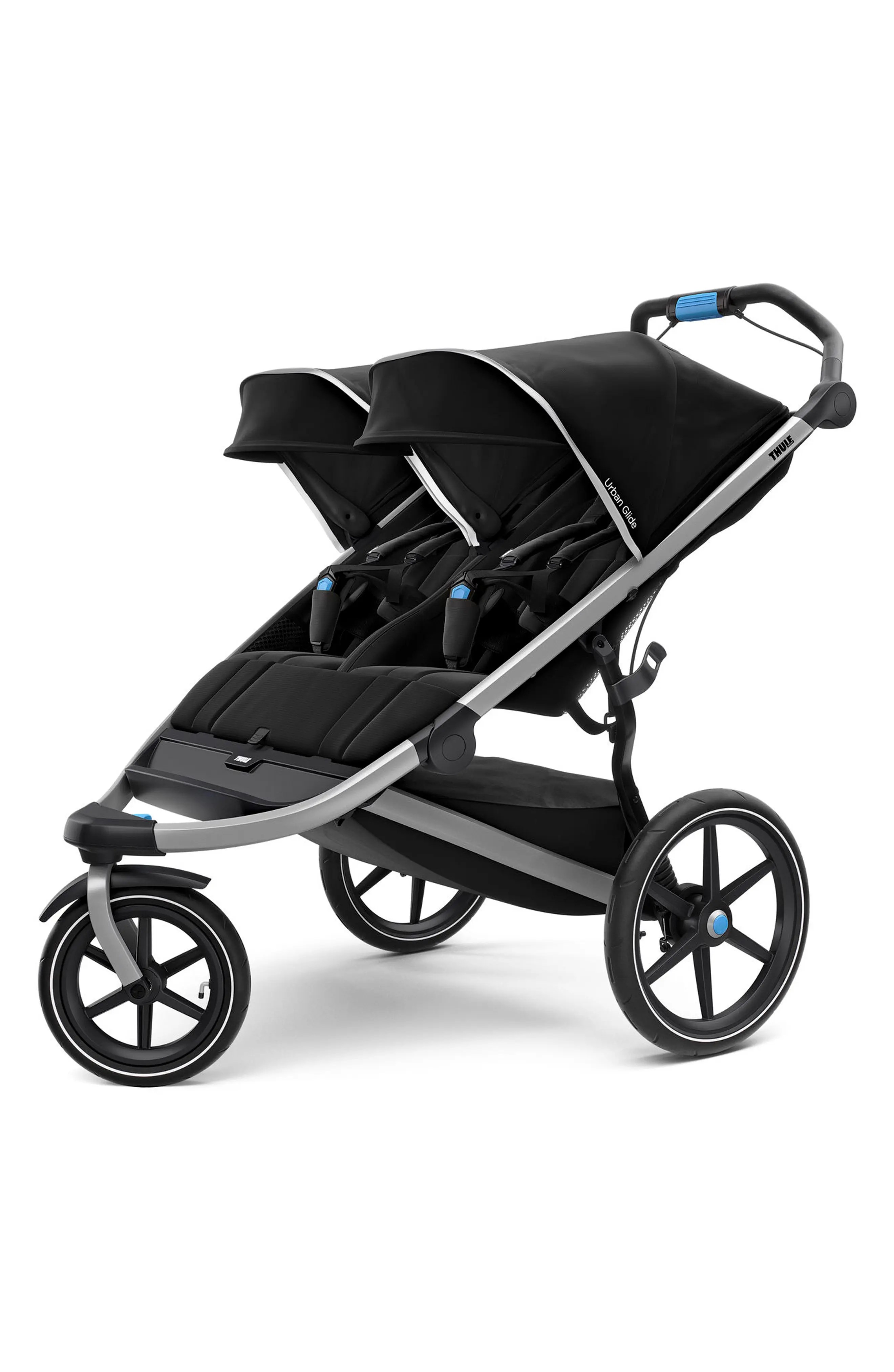 Double Pushchair Bugaboo Thule Urban Glide Double Twins Tandems Pushchairs