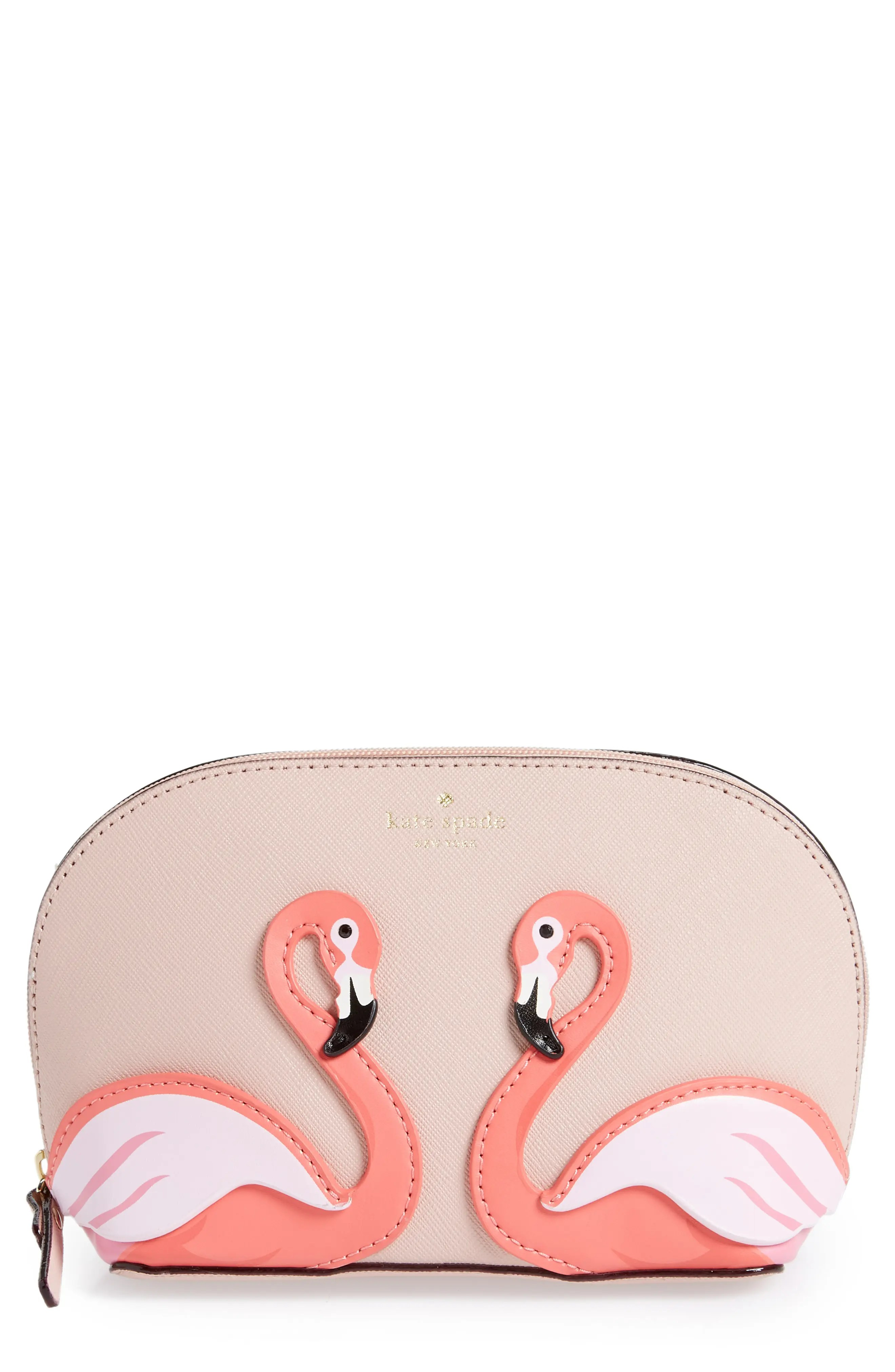 By The Pool Flamingo Kate Spade Kate Spade New York By The Pool Flamingo Small Abalene Leather