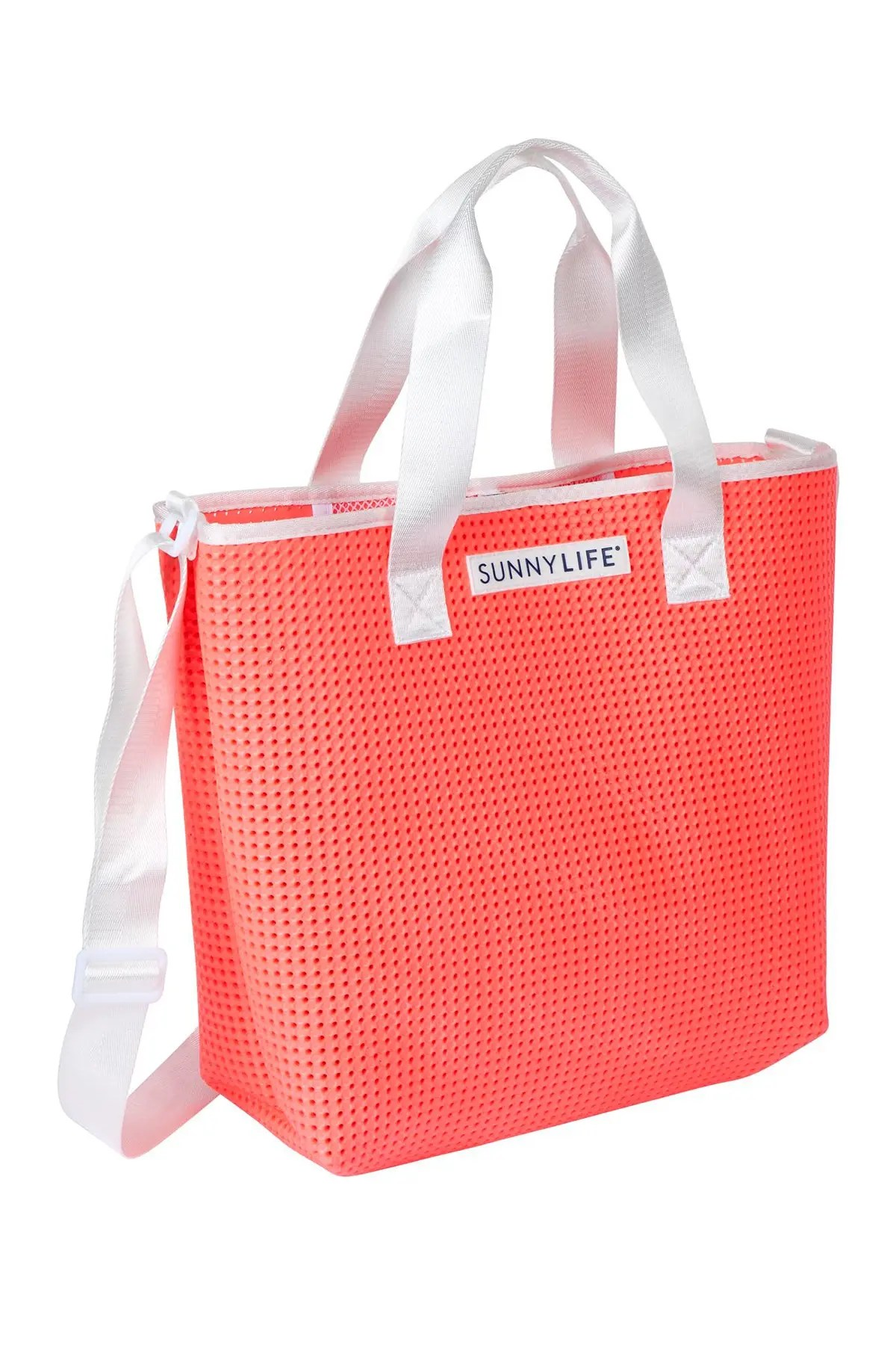 Sunnylife Refresh Tote Bag Neon Coral Nordstrom Rack