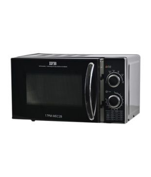 IFB 17PM-MEC2B 17 Litres Solo Microwave Oven - Black