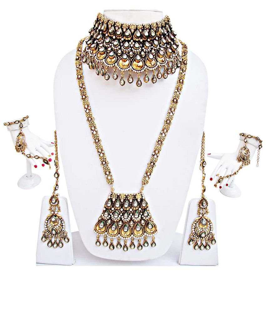 Where To Get Bridal Jewelry Antique Kundan Bridal Jewellery Set Buy Antique Kundan Bridal