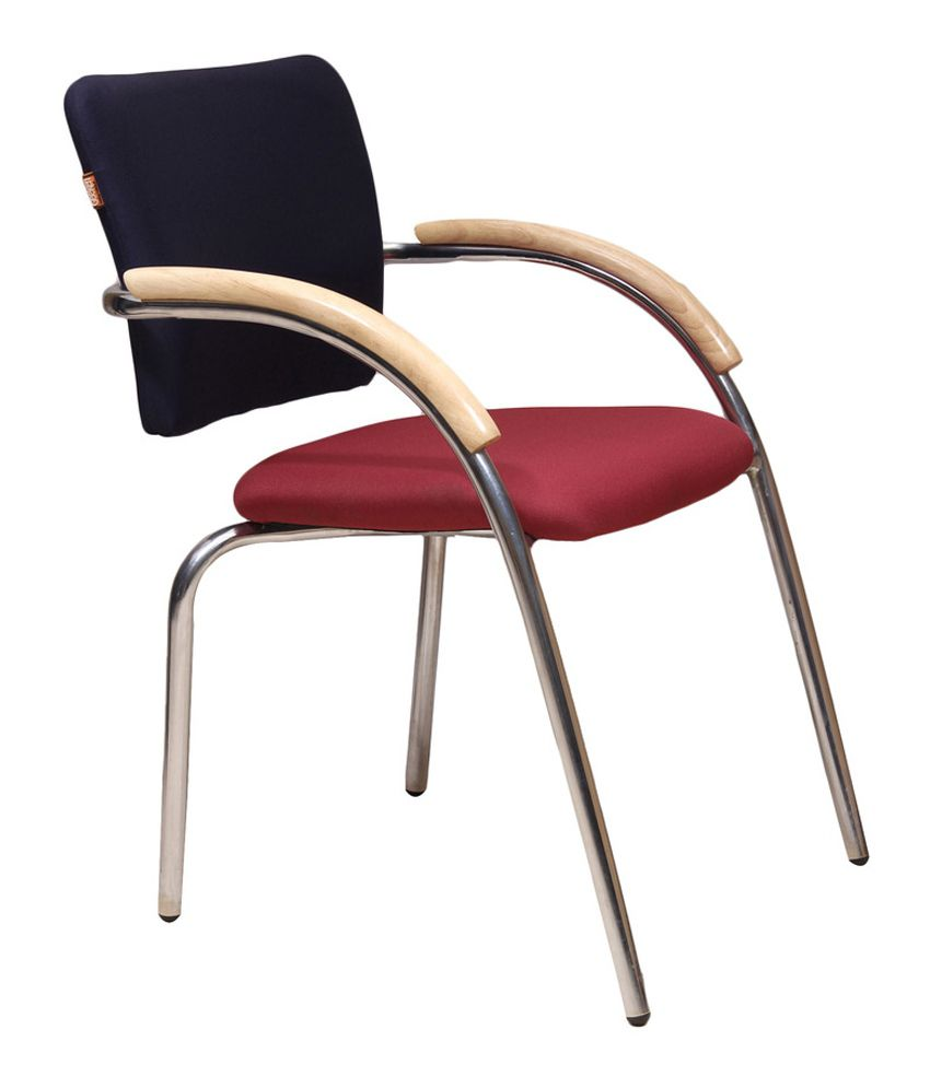 Maurice Low Back Visitor Office Chair Snapdeal price