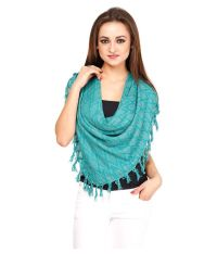 Citypret Turquoise Scarf For Women Price in India 12 May ...