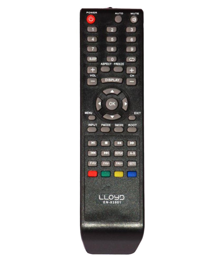 Led Online Shop R Shop En 83801 Tv Remote Compatible With Lloyd Led Lcd Tv
