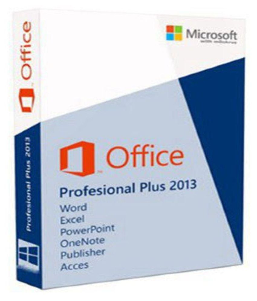 Microsoft Office 2013 Professional Plus Microsoft Office 2013 Pro Plus 32 64 Bit Activation Card
