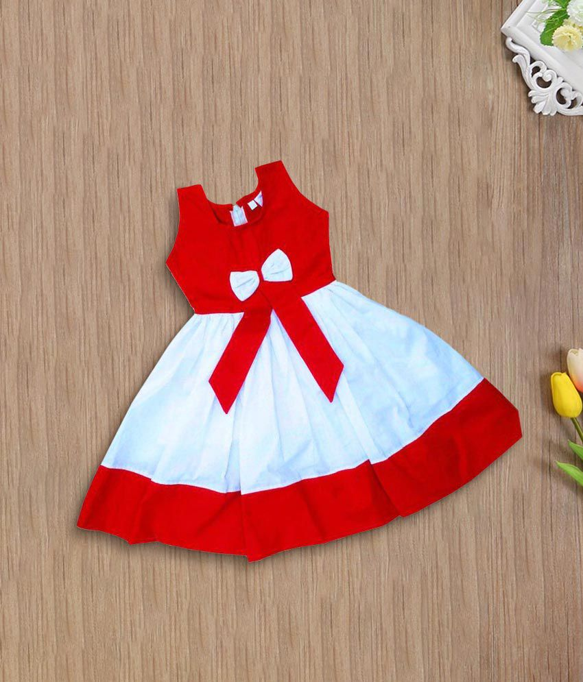 Newborn Babies Online Shopping Flora Multicolour Cotton Frock For Newborn Baby Girl