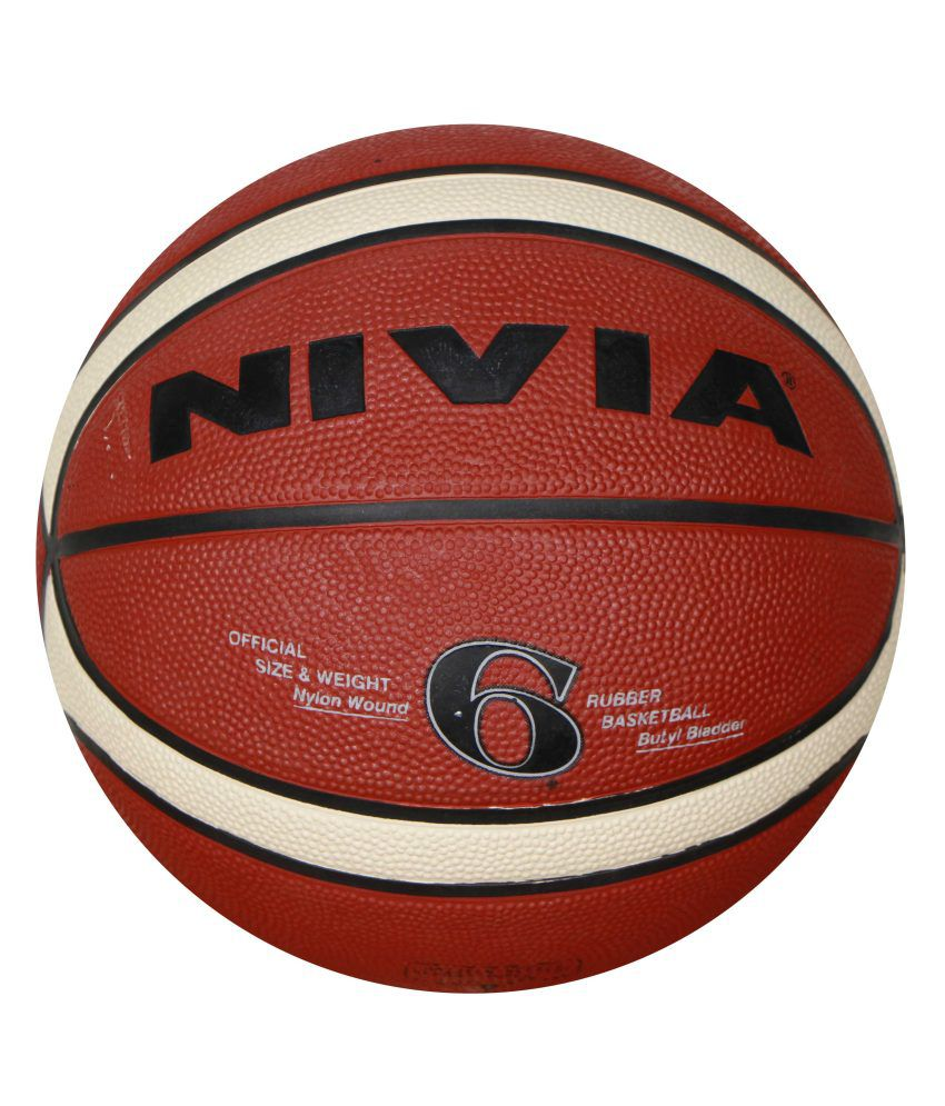 Basketball Ball Nivia Engraver Six Basketball Ball Niviabb202