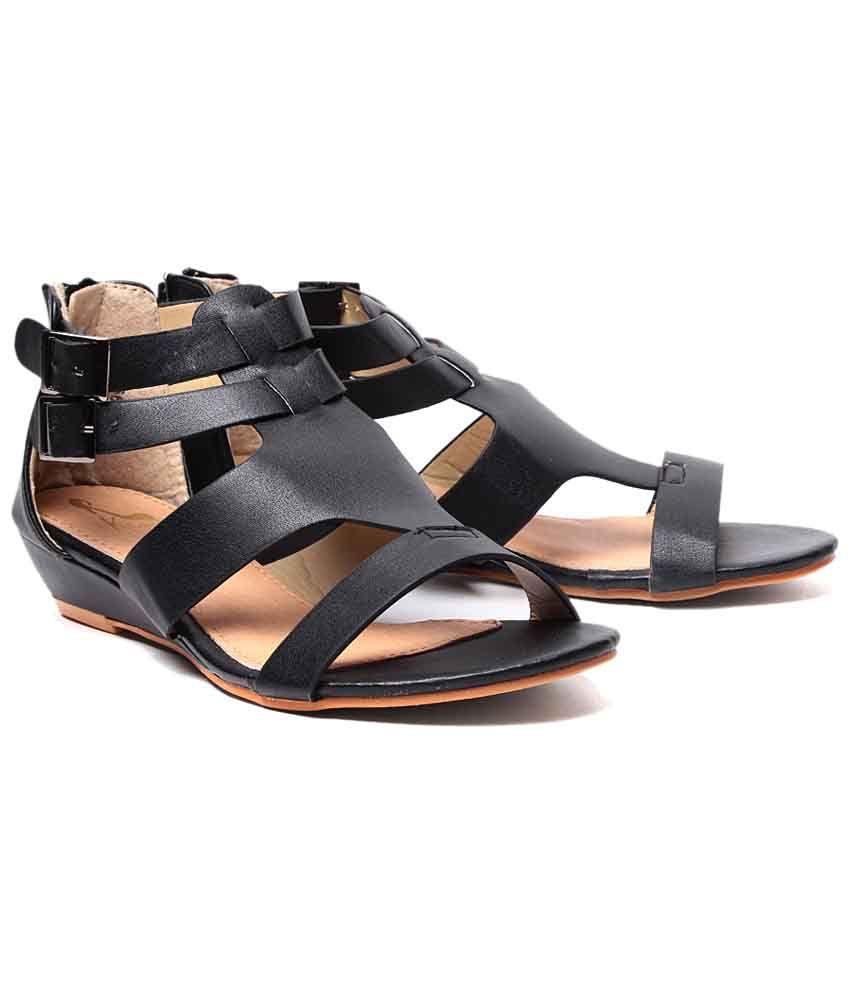 Black sandals melbourne klaur melbourne attractive black sandals for women