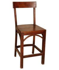 Sheesham Wood Simple Bar Chair - Buy Sheesham Wood Simple ...