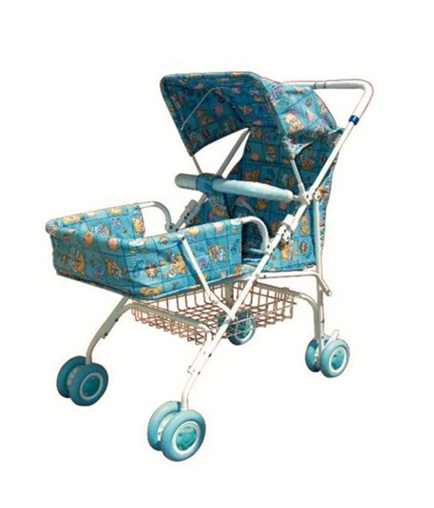 Pram Stroller India Bajaj Blue Pram Strollers Price In India Buy Bajaj Blue