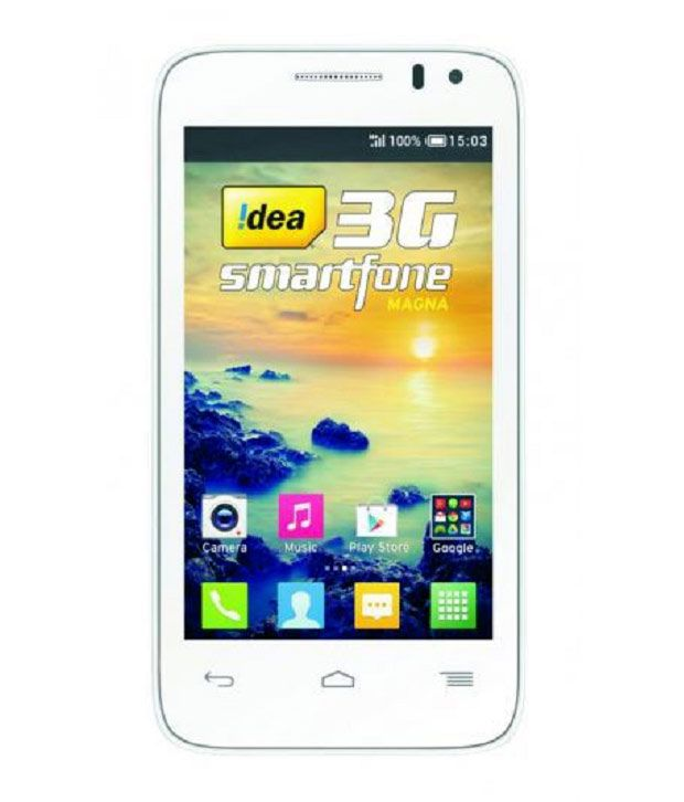 Idea 3G One Touch Smart Magna White Mobile Phones Online at Low - tuch mobil