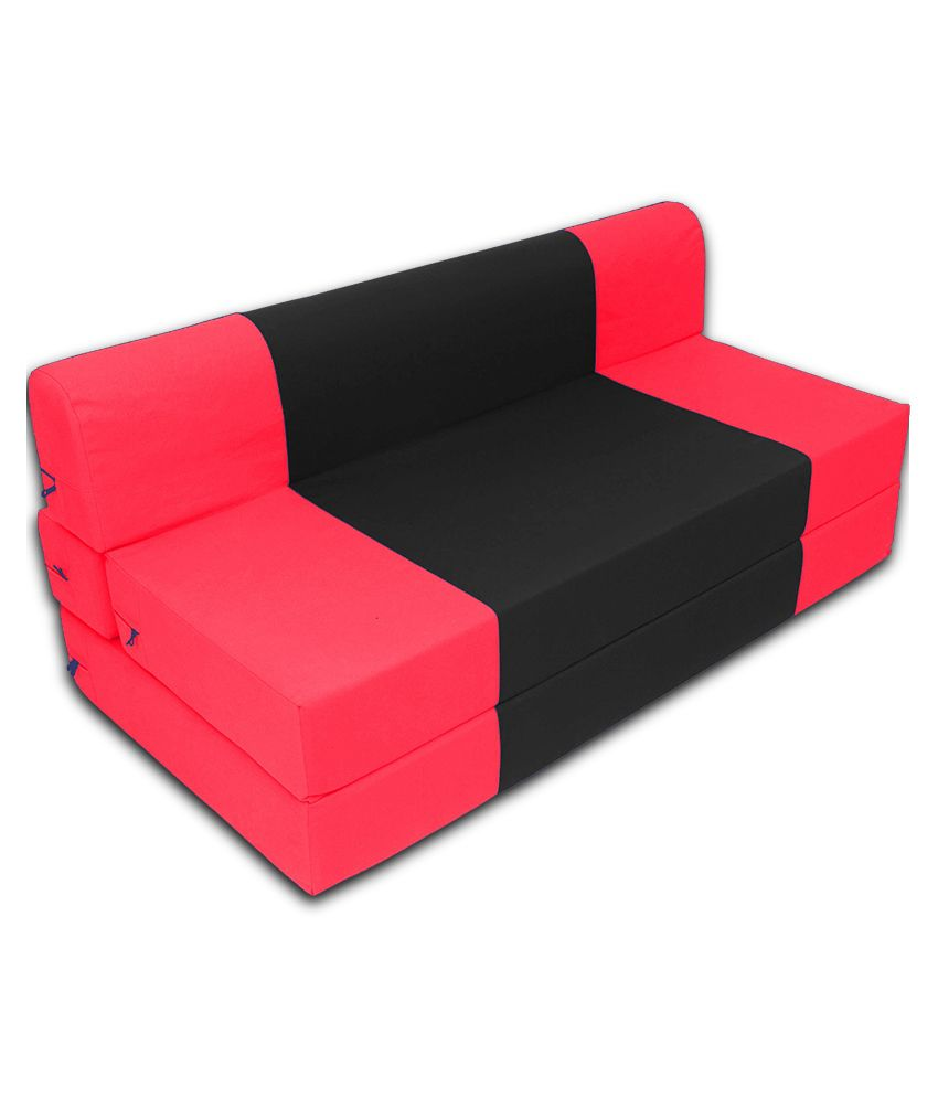 Couch Xxl Zeal 3 Seater Sofa Cum Bed With Free Bean Bag Cover Xxl