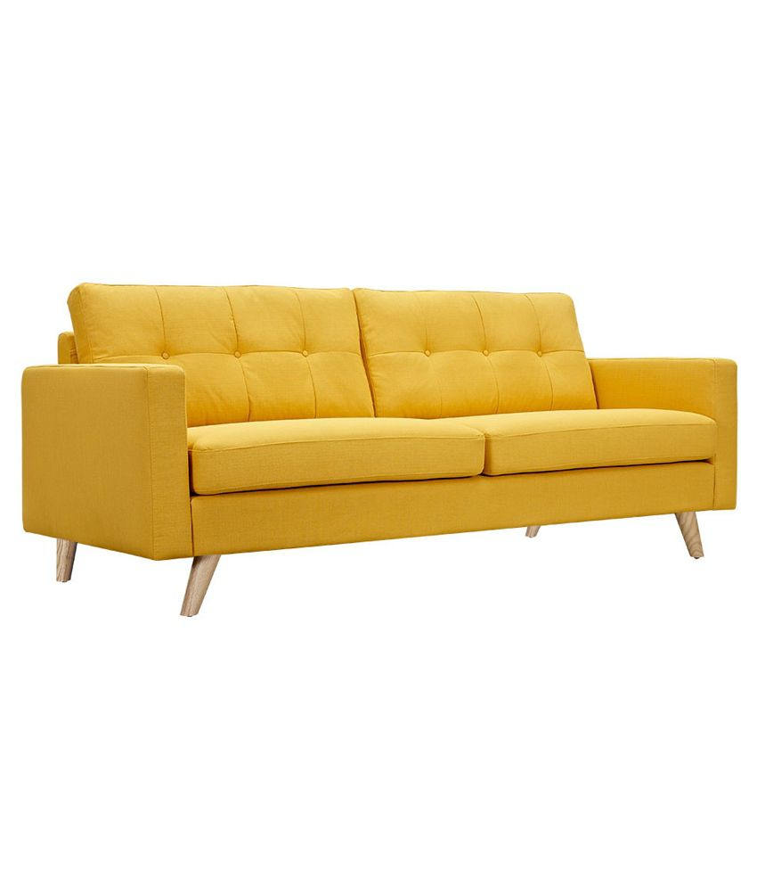 Yellow Sofa Online India Designer Home Papaya Yellow Abbott Sofa